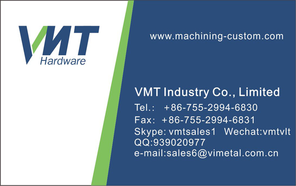 Vmt Factory Cnc Machining Mechanical Parts Fabrication Services