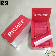 Chemical Free Cigarette Smoking Rolling Paper