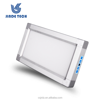 Smart led film viewer dental , small size dental X ray film viewing box with dimmer