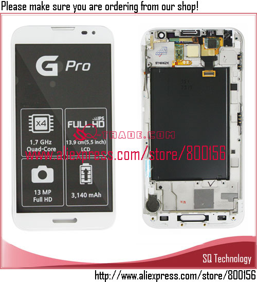 New! for LG Optimus G Pro E980 LCD and Digitizer Assembly