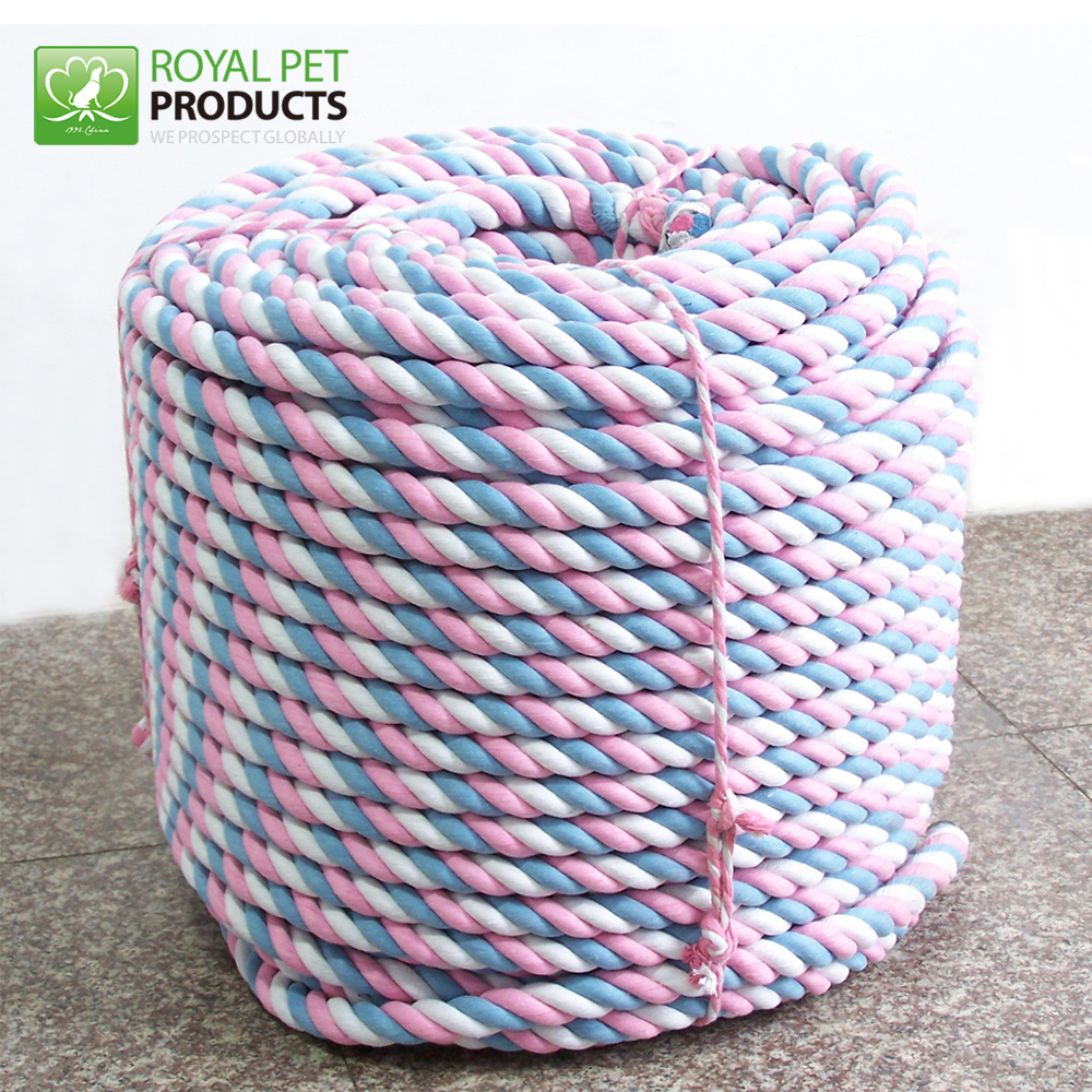 Wholesale multi color double nylon braided rope