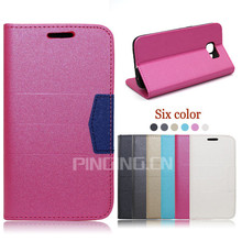 Hot Selling flip leather cover for blu studio 7.0 LTE , wallet case for blu studio 7.0 LTE
