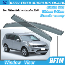 Quality guaranteed window rain visor for Mitsubishi outlander 2007