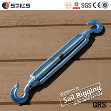 galvanized small size Commercial type malleable iron turnbuckle