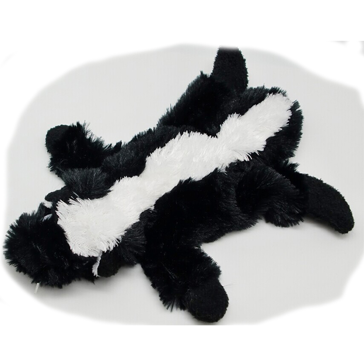 Pet toy imported from China plush animal body dog pet toy
