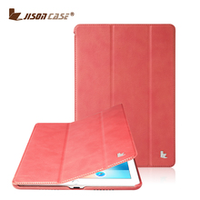 Leather Smart Cover Protective Slim Folio Flip Stand for Apple iPad Pro 9.7 Inch with Magnetic Sleep and wake up function