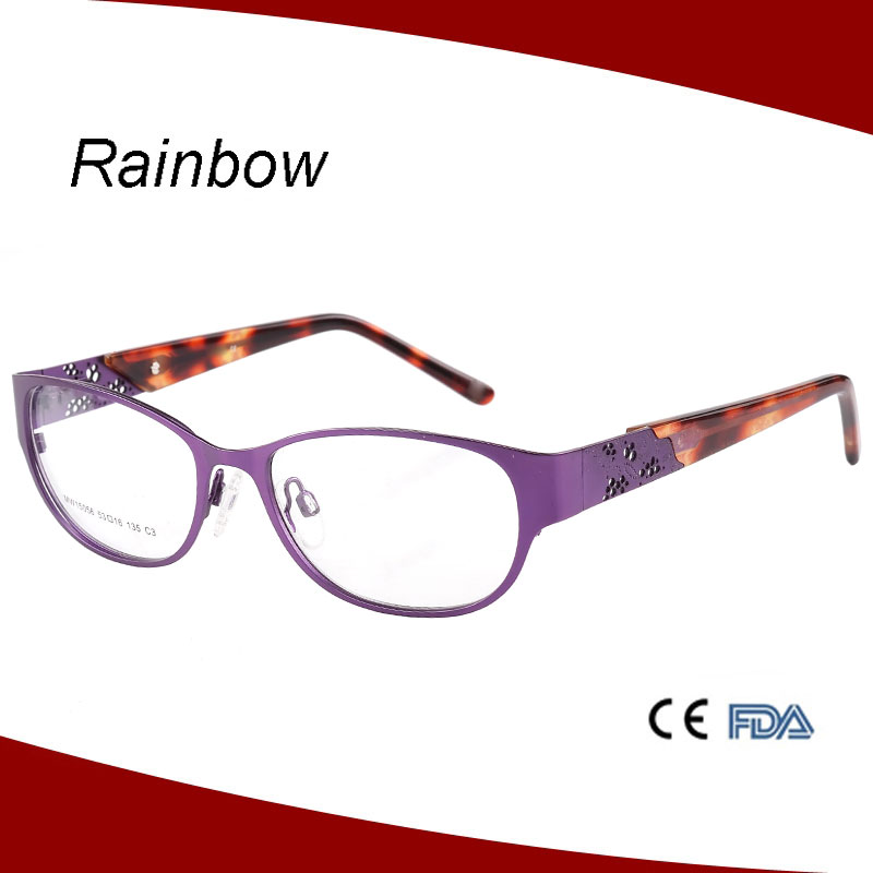 2016 New Trendy Elegant Eyeglasses Frame For Woman Fancy ...