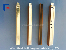 Suspended metal ceiling wall angle joist
