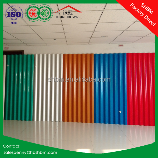 non-asbestos waterproof soundproof magnesium oxide roof tile chinese clay roof tiles