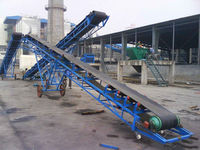 high efficiency width corn belt conveyor