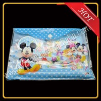 Customized Plastic Pencil Case with button