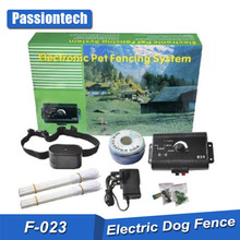 F-023 Outdoor Electronic Pet Dog Fence System Collar, Protable Wireless Invisible Electric Fence Dog Collar, Cheap Dog Run Fence