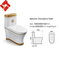 luxury bathroom design gold portable toilet for homes