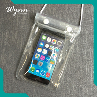 High quality Assurance pvc waterproof phone bag for women