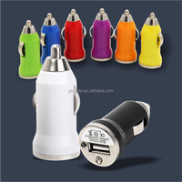 promotional mobile phone car charger 5V 1A universal single mini usb car charger for apple iPhone