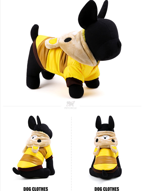 Winter Dog Coats Cosplay Clothing for Dog Costume for Hoodie Pet Clothes Cartoon Rabbit Costumes for Puppy