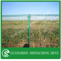 Factory direct ornametal double ring wire mesh fence make in china