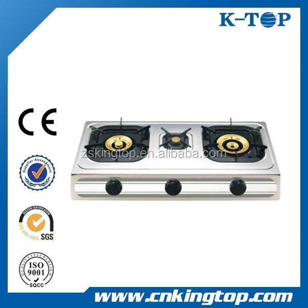 Newly Design Battery operated kitchen appliances gas hobs with glass top
