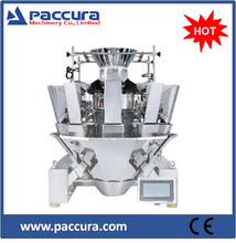 Automatic 14 heads food weighing packaging machine