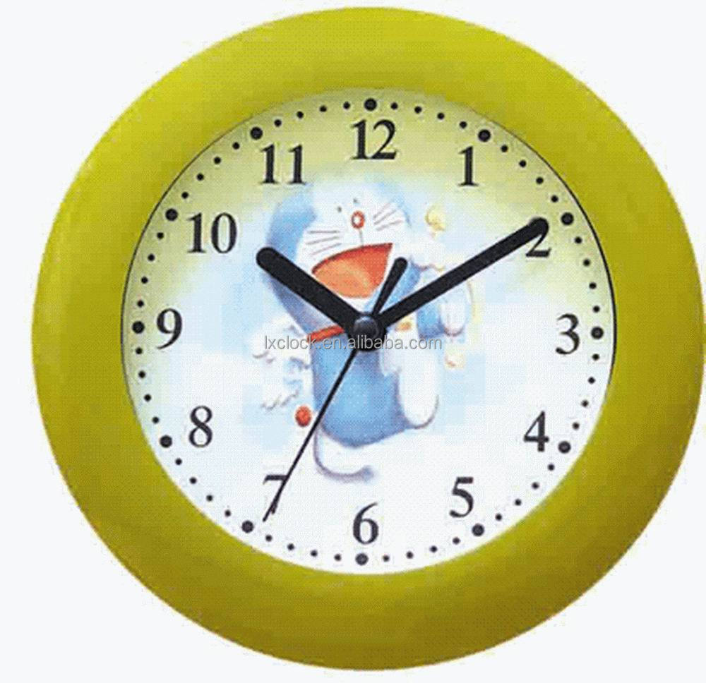Small colorful wall clock for kids room 17 5 17 5 buy for Kids room clock