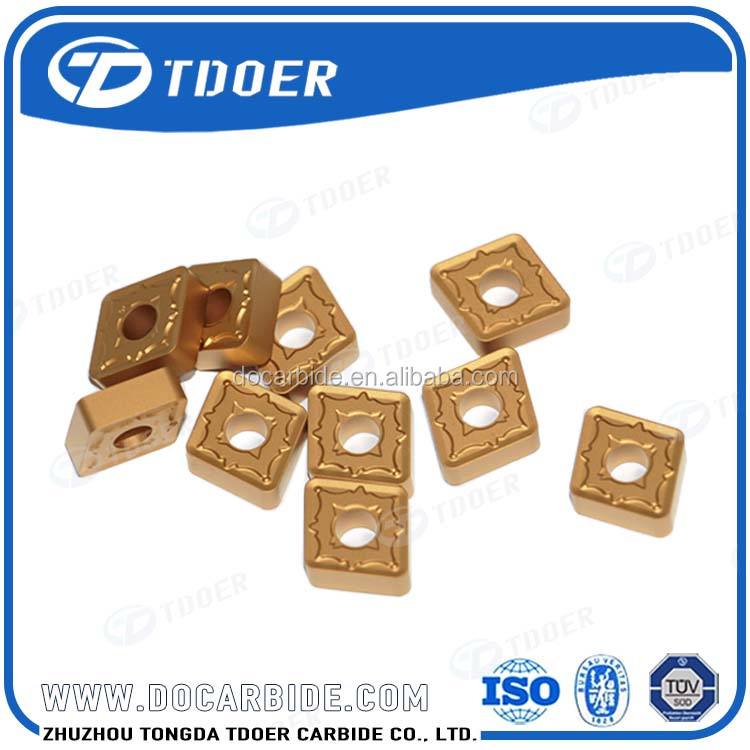 carbide inserts for end milling cutters