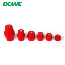 Pin type insulator support sm100 m12 red colour rohs