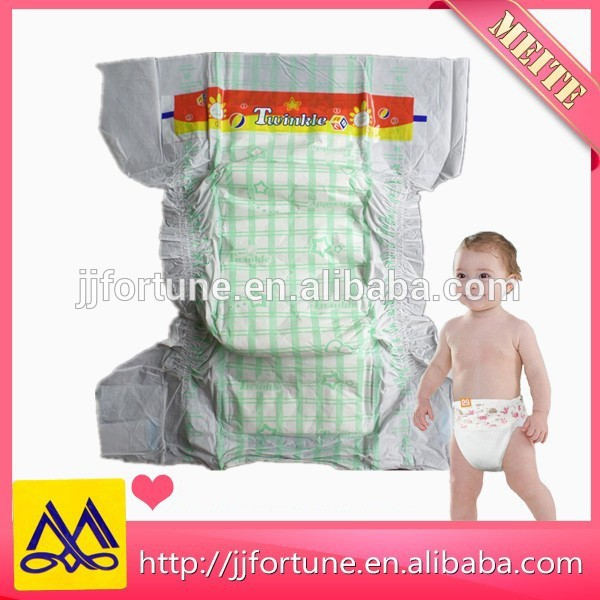 Breathable baby diapers, PE film backsheet baby nappy, disposable baby diaper