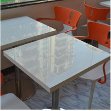 Solid surface kfc furniture dining tables and chairs, coffee tables,restaurant dining tables and chairs