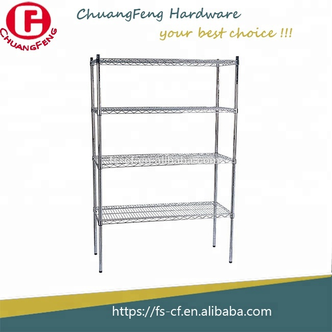 Shops goods shelf Chrome display <strong>rack</strong> floor stand stacking <strong>rack</strong>