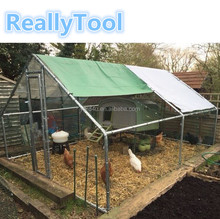 large chicken cage outdoor animal cages galvanized dog kennel coop grow chicken factory wholesale
