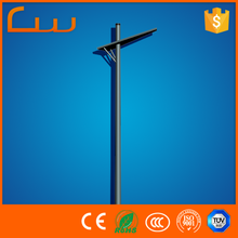 Q235 Metal galvanized 12m street light pole