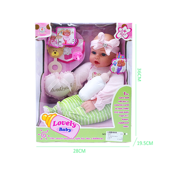 2016 China Sleeping Silicone Baby Doll Toys with Nipple for Sale