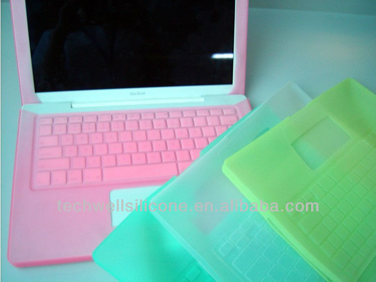 High quality colorful silicone laptop sleeve