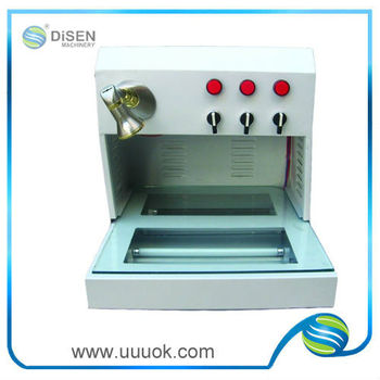 Photo crystal uv curing machine
