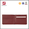 Tanned leather RFID blocking coin men wallet