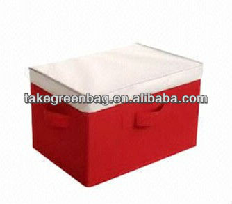 Foldable polyester storage container