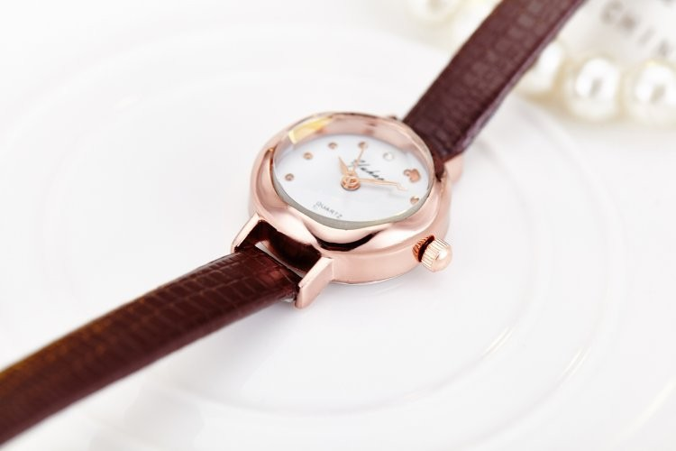 Z167 Fashion casual online ladies wrist watch rose gold case cheap quartz watches for women