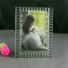 novel crystal photo frame for family , crystal photo frame forholiday gifts