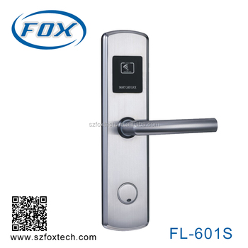 100% 304 stainless steel hotel locks FL-601S hot in 2016