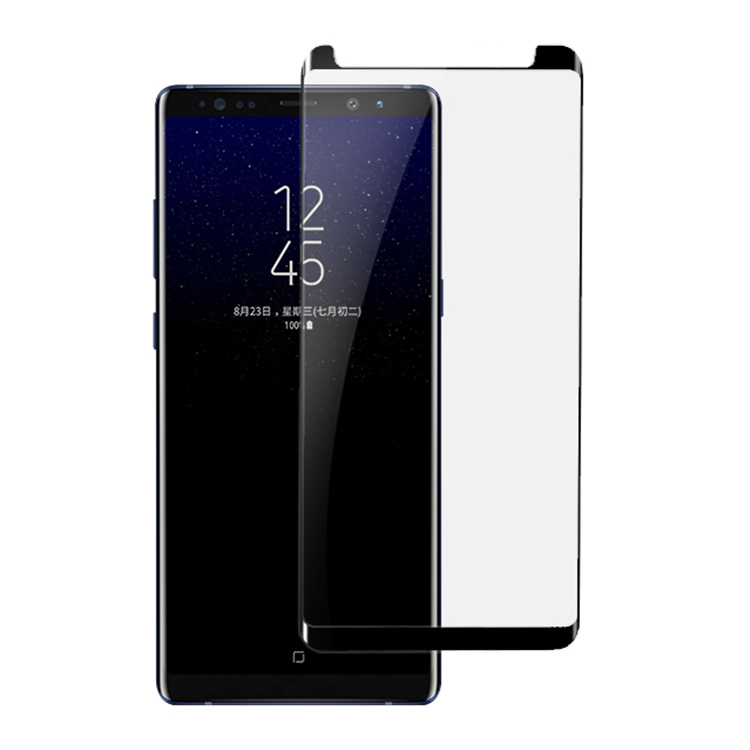 Anti-shatter Silk Print Color Tempered Glass Film Screen Protector For Samsung Galaxy Note 8