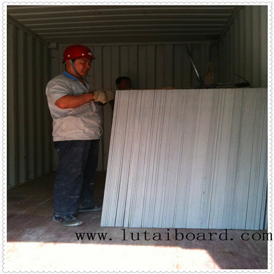 calcium silicate board ceiling tiles partition prefabricated house base panel exterior wall cladding