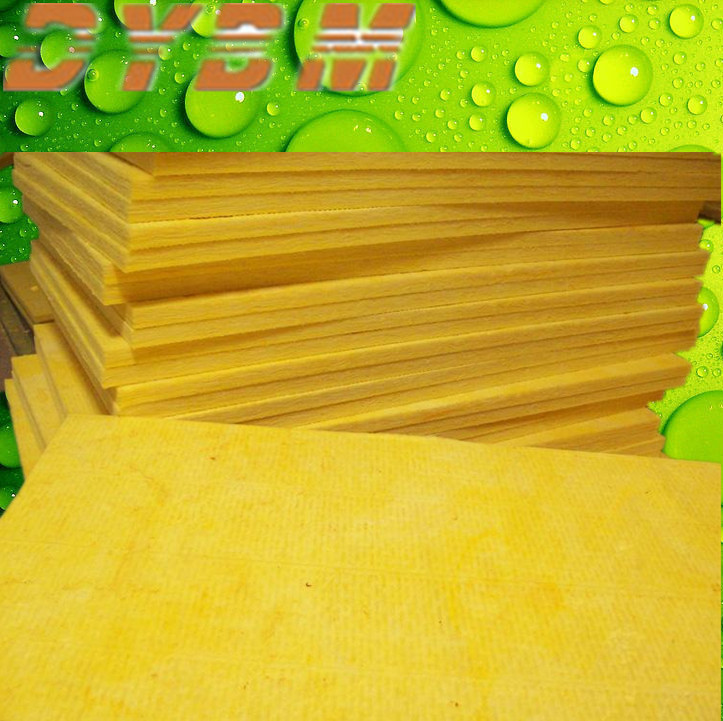 glass wool wall panel &heat insulation materials,glass wool with black tissue