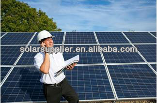 5KW 10KW solar panel support pv mounting structures for commercial /5KW solar system for home use