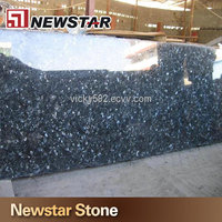 blue pearl granite stone kitchen countertop design