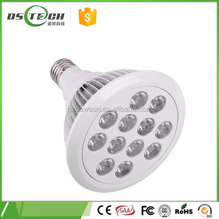 12w 24W LED grow light lamp for plant succulent plants vegetables fruits flowers 630nm blue light 660nm red light