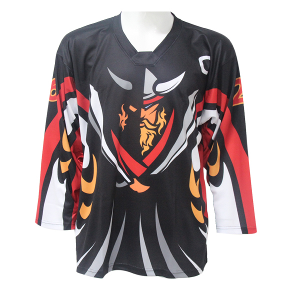free sample men's ice hockey jersey