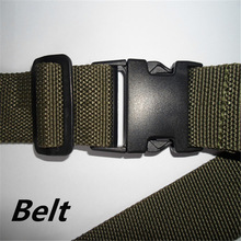 Customized Wholesale Cheapest Military belt Strong Strap