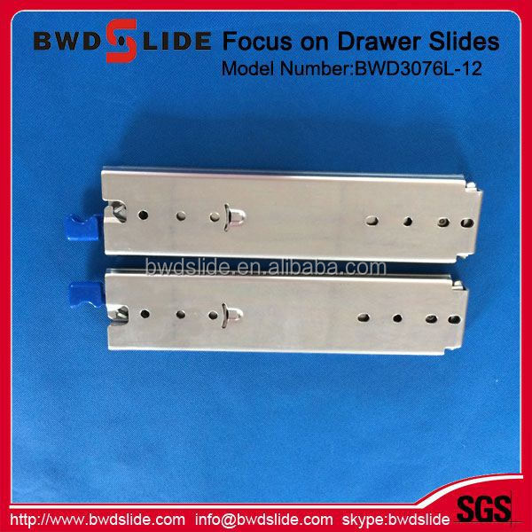 "BWD3076L-12 60"" Cold Rolled Steel Heavy Duty Locking Drawer Slide Wholesales"