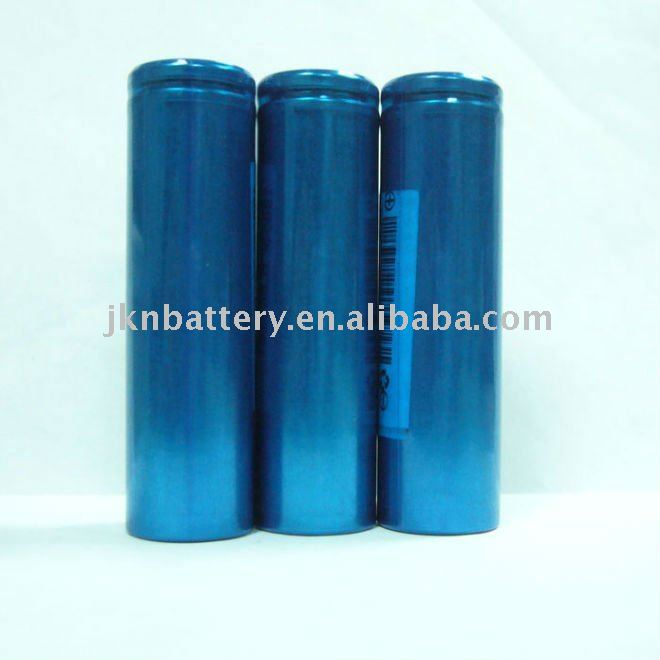 cylinder rechargeable li ion laptop battery 18650
