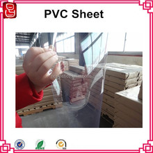 Plastic Sheets Super Clear Thick Transparent PVC Sheet 0.25mm